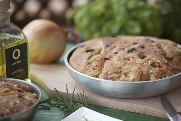Pão com azeite de oliva