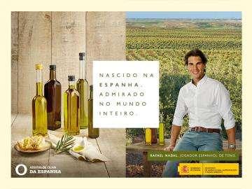 Azeites da Espanha e Rafa Nadal: nascidos em Espanha, admirados pelo mundo