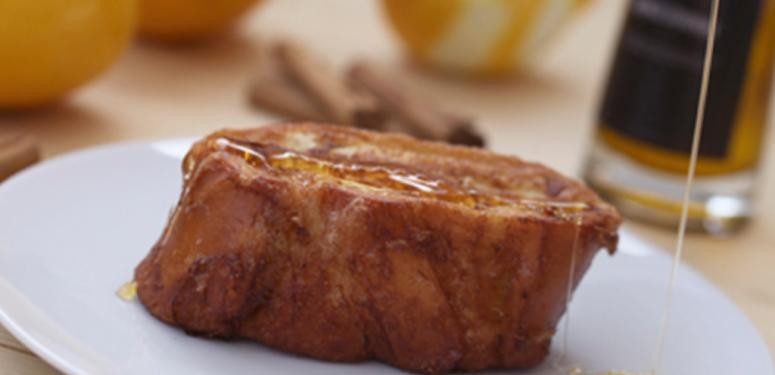 Um pedacinho de prazer espanhol Torrijas de Semana Santa
