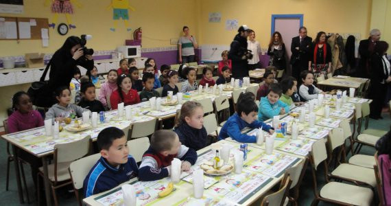«Pequeno almoço saudável» nas escolas (Comunidade de Madrid)