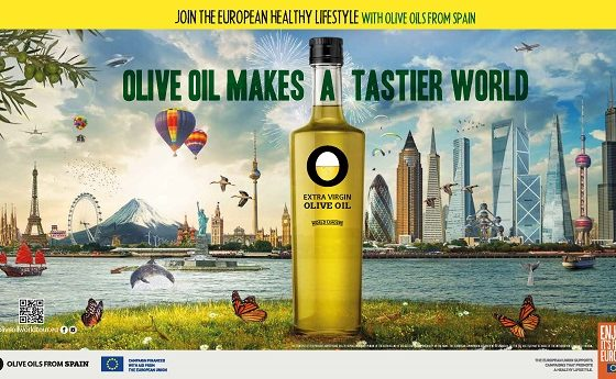 Campanha promocional Olive Oil Makes a Tastier World na Europa