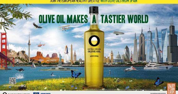 Campanha promocional Olive Oil Makes a Tastier World nos Estados Unidos